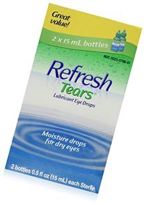 REFRESH TEARS lubricant eye drops 0.5 % 15 ml  - Packaging