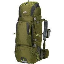 High Sierra Tech 2 Series Titan 55 Frame Pack MOSS/MERCURY/CHARTREUSE - High Sierra Day Hiking Backpacks
