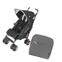 Maclaren Techno XT Stroller With Pannier Bag Charcoal -