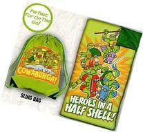 Teenage Mutant Ninja Turtles Slumber Bag Set - 'Heroes in a