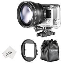 Neewer 52MM High Definition Telephoto Lens Kit for Gopro