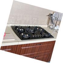 "Brand New 30"" Tempered Glass Built-in Kitchen 5 Burner Oven"