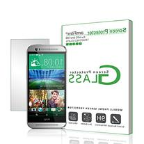 amFilm Tempered Glass Screen Protector for HTC One M8 2014