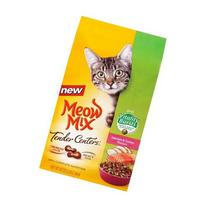 Meow Mix Tender Centers Salmon & Turkey Flavors with