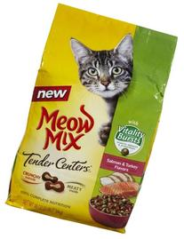 Meow Mix Tender Centers with Vitality Burst - 3lb