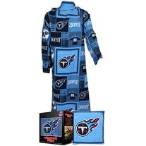 NFL Tennessee Titans Pillow Snuggie, Large, Blue