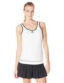 adidas Performance Women's Galaxy Tank Top, White/Black,