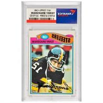 Terry Bradshaw Pittsburgh Steelers Autographed 1977 Topps #