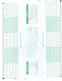 TEST-884E 884 E Compatible Testing Forms