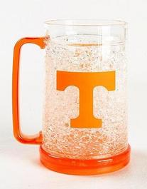 Texas Longhorns Plastic Crystal Freezer Mugs - Set of 4