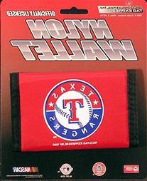 Texas Rangers MLB Nylon Trifold Wallet
