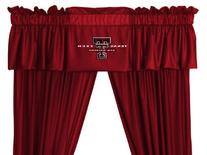 Texas Tech Red Raiders Valance in Bright Red