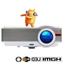 "EUG LCD 5.8"" TFT 4200 Lumnes Wifi Hdmi Projector 1080p"