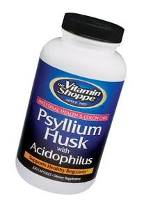 the Vitamin Shoppe Psyllium Husks 300 Capsules
