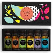 Top 6 100% Pure Therapeutic Grade Basic Aromatherapy Sampler