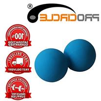 PROCIRCLE Double Massage Peanut Ball - Blue - Mobility Ball