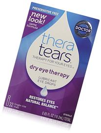 TheraTears Lubricant Eye Drops, Single-Use Containers - 32