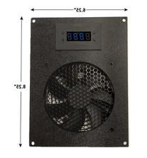 Coolerguys Thermal Controlled Single 120mm USB Fan Kit with