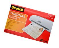 Scotch Thermal Laminating Pouches, 11.45 x 17.48-Inches, 25-