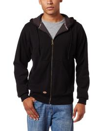 Dickies Men's Thermal Lined Fleece Jacket, Black, 3X-Large