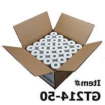 Thermal Paper Rolls 2-1/4 X 50 Verifone Vx520 Ingenico