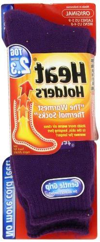 Heat Holders Thermal Socks, Women's Original, US Shoe Size 5