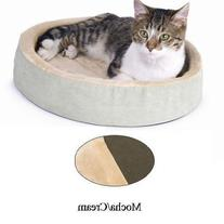 Thermo-Kitty Cuddle Up Sage 16 inch x 16 inch x 3 inch