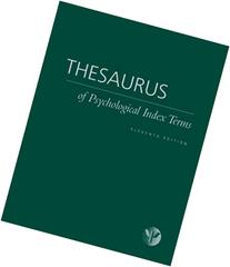 Thesaurus of Psychological Index Terms
