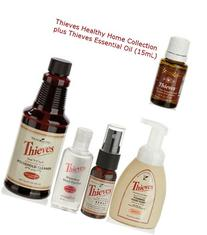 Thieves Healthy Home Kit Plus Thieves Essential Oil