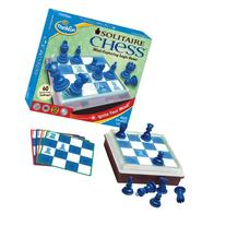 Think Fun Solitaire Chess - Fun Version of Chess You Can
