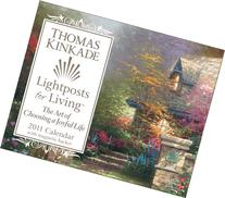 Thomas Kinkade Lightposts for Living: 2011 Mini Day-to-Day