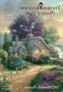 Thomas Kinkade Painter of Light: 2012 Monthly Pocket Planner
