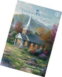 Thomas Kinkade Painter of Light with Scripture 2013 Large