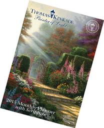 Thomas Kinkade Painter of Light with Scripture 2015 Monthly