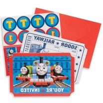 Thomas The Train Party Invitations - Party Supplies - 8 per