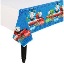 Thomas The Train Party Plastic Table Cover - Party Supplies