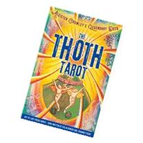 The Thoth Tarot Book and Cards Set Aleister Crowley's
