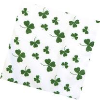 Three  Saint Patrick's Day Bar/Kitchen/Bath Shamrock Towels