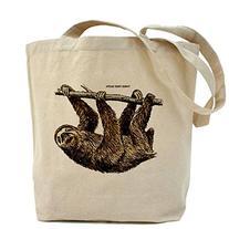 CafePress - Three-Toed Sloth Tote Bag - Natural Canvas Tote