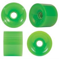 OJ III Thunder Juice Neon Green Longboard Wheels - 75mm 78a