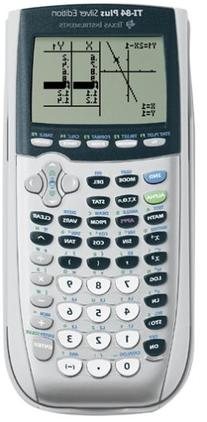 Texas Instruments TI-84 Plus Silver Edition Graphing