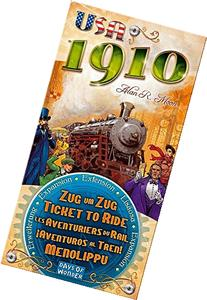 Days Of Wonder TICKET TO RIDE USA 1910 EXP dow7216 DOW7216