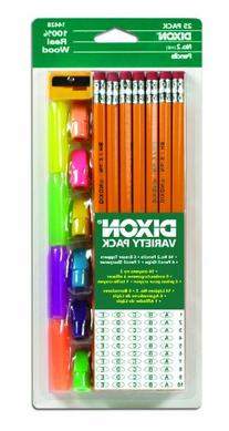 Dixon Economy Pencil Variety Pack, 14 Number 2 Soft Pencils