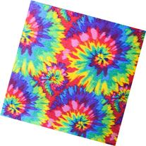 "Tie Dye Anti Pill Plaid Fleece Fabric, 60"" Inches Wide -"