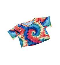 "16"" Tie Dye T-Shirt Teddy Bear Clothes"