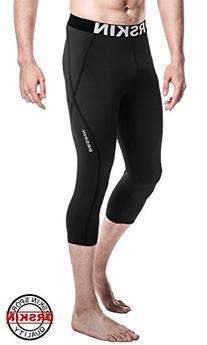 Tight 3/4 Compression Pants Base Layer Running Pants Men