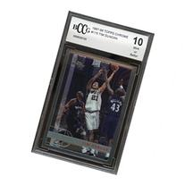 1997-98 topps chrome #115 TIM DUNCAN spurs rookie card BGS