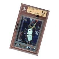 1997-98 topps chrome #115 TIM DUNCAN spurs rookie card BGS 9