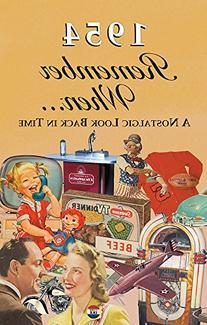 1954 Remember When Kardlet  65th Gift