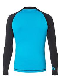 Quiksilver Youth Boys All Time Long-Sleeve Rash Guard Suit,